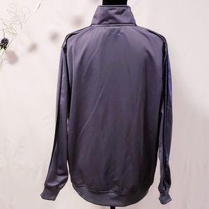 adidas Shirts - Adidas Gray track suit jacket Men's size L🦅